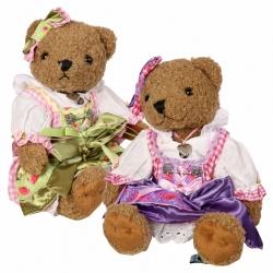 Teddy-Bär Madl Johanna und Sophia