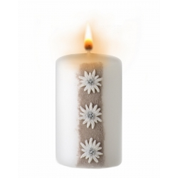 Kerze Alpina