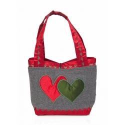 Trachtentasche Herz
