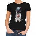 T-Shirt Mops - schwarz